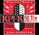According to KPFK's mission statement, all programming is educational and non-commercial, serves the cultural welfare of the community, and contributes to a lasting understanding between nations and between the individuals of all nations, races, creeds and colors.